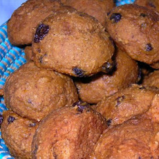 Pumpkin-raisin Cookies