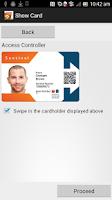 Screenshot of Sentinel NFC