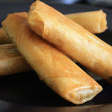 Shanghai-Style Spring Rolls (with Braised Cabbage and Pork)