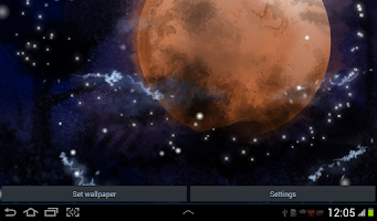 Screenshot of Moon Live Wallpaper