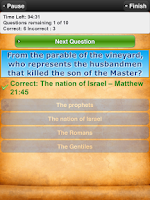 Screenshot of Bible Trivia Quiz Free Bible G