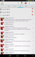 Screenshot of Legislativ