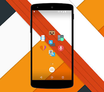 Moonshine - Icon Pack – Miniaturansicht des Screenshots