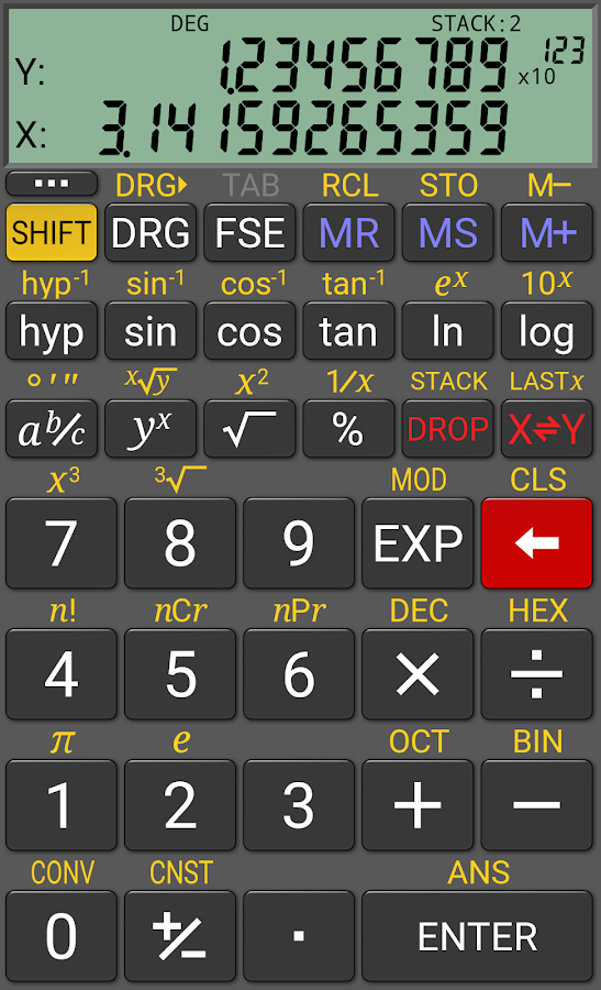RealCalc Plus Screenshot 1
