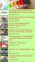 Screenshot of Rainbow Loom Starburst