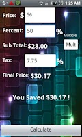 Screenshot of The Discount Calculator