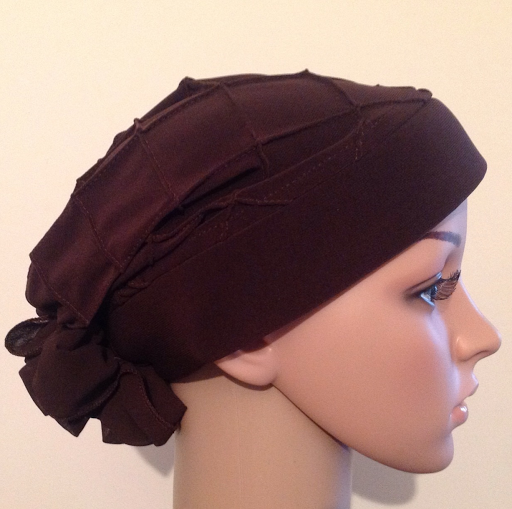 Brown diamand turban