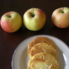 Cornmeal-Apple Pancakes