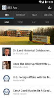 Screenshot of SES Apologetics App