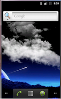 Screenshot of Night Sky Live Wallpaper