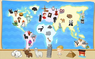 Screenshot of Kids' Funny World Journey
