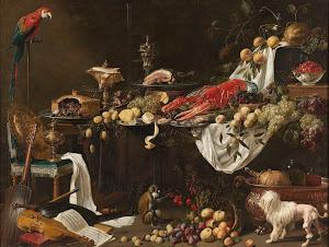 RIJKS: Adriaen van Utrecht: Banquet Still Life 1644