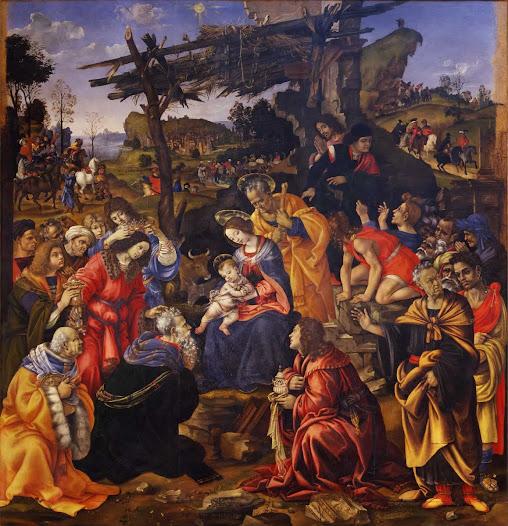 Lippi Filippino, Adorazione dei Magi