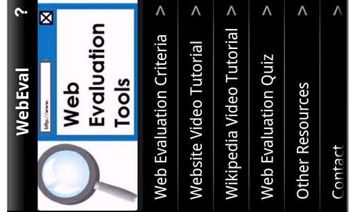 Web Evaluation Criteria