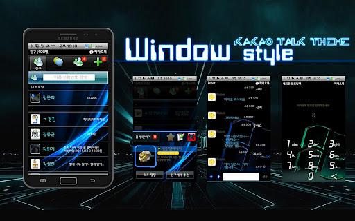RX5 KakaoTalk Theme-WindowOS