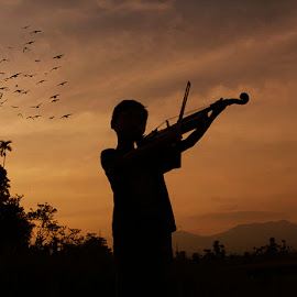 violin by Haris Fallin - Babies & Children Children Candids