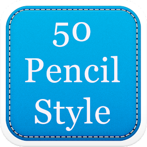 50 Pencil Fonts Style