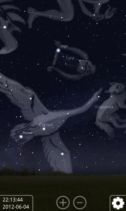 Stellarium Mobile Sky Map Screenshot 1