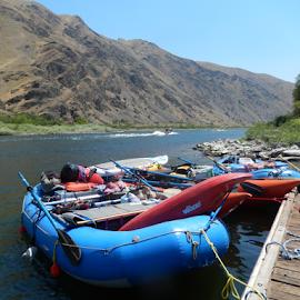 Snake River Transportation by Dawn Schriebl Hartley - Transportation Other (  )