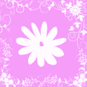 Pink Flower Keyboard Skin icon