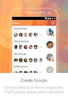 Screenshot of Fuse: Photo. Group. Chat.