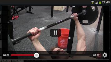 Screenshot of Dumbbell Barbell Workout