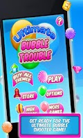 Screenshot of Ultimate Bubble Trouble