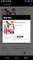 Screenshot of NYLON Thailand