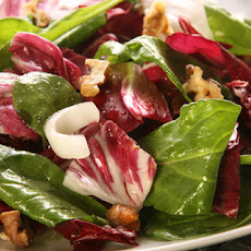 Chicory and Arugula Salad with Honey Vinaigrette Recipe