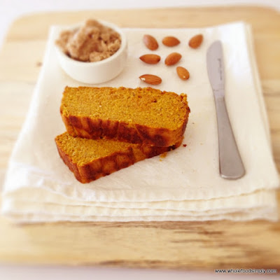Pumpkin and Almond Bread