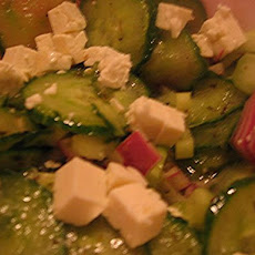 Cucumber Onion Salad