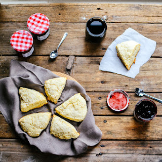 Basic Scones (with Bonne Maman)
