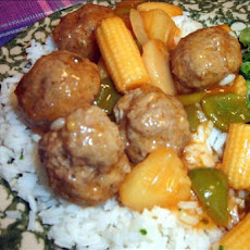 Chelle's Famous Sweet and Sour Meatballs