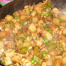 Vaguely Oriental Turkey Hash