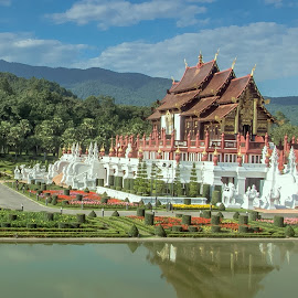 Centre Pavilllion, Royal Park Rajapuek, Chiangmai, Thailand by Mala Awang - Buildings & Architecture Other Exteriors