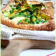 Green Vegetable Tart