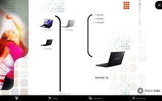 Screenshot of Zona Sony
