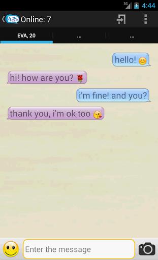 4Chat - random dating chat - screenshot