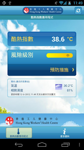 酷熱指數應用程式