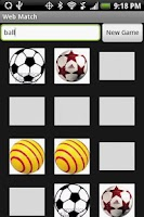 Screenshot of Web Match Game (Free)