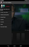 Screenshot of Alex Jones' InfoWars