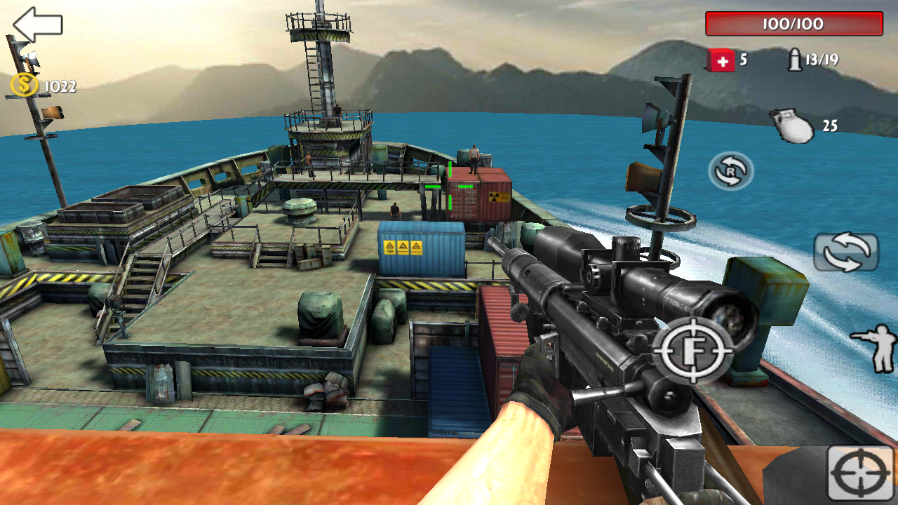 Sniper Killer War Screenshot 1