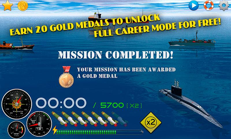 Silent Submarine Career Screenshot 6