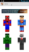 Screenshot of McPe Skins