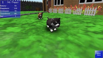 Screenshot of Cute Pocket Puppy 3D