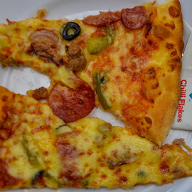 My 2 slices by Syahrul Nizam Abdullah - Food & Drink Meats & Cheeses