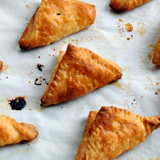 Date and Nut Puff Pastry Turnovers