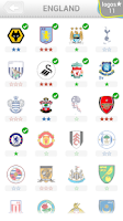 Screenshot of Football Quiz - Logo Quiz