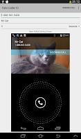 Screenshot of Fake Call