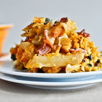 Roasted Butternut Baked Penne